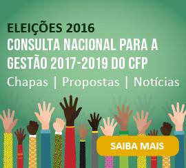 Eleições 2016 - Consulta Nacional para a gestão 2017-2019 do CFP - Saiba mais