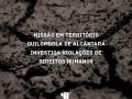 Missao em território quilombola investiga violações de direitos humanos
