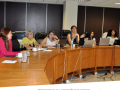 Integrantes da Conpas em reunião de planejamento