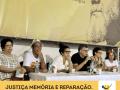 Mesa em homenagem a Marcus Vinícius, no Fórum Social Mundial