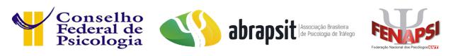 Logotipos do CFP, ABRAPSIT e FENAPSI