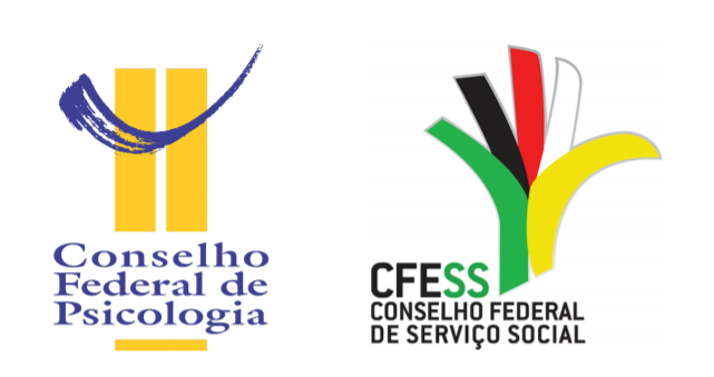 Logotipos do CFP e CFESS
