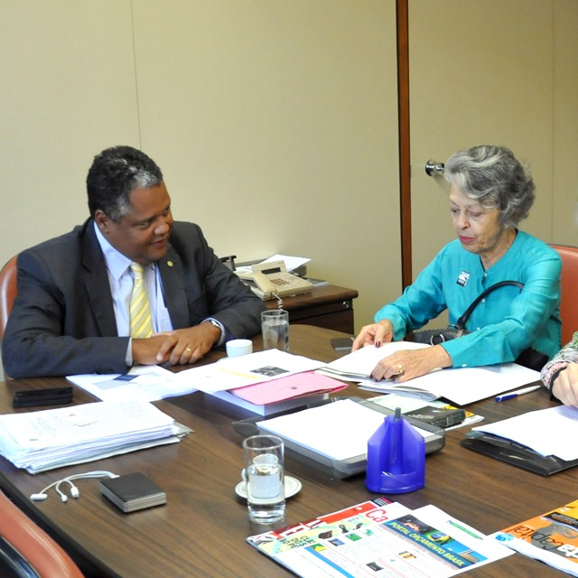 Audiência do CFP com o presidente da Comissão de Seguridade Social e Família, deputado Antônio Brito (PTB/BA)