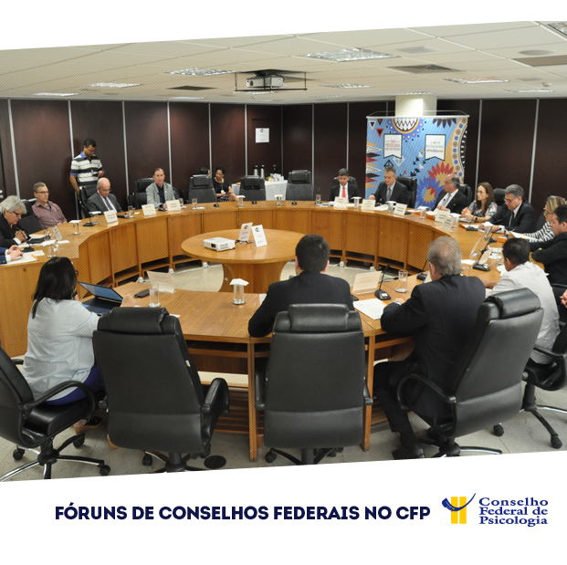 Fóruns de Conselhos Federais no CFP