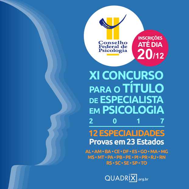 Concurso para especialista em Psicologia