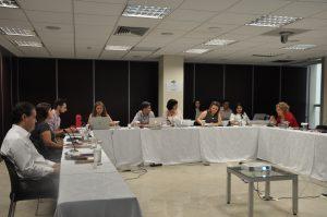 Reunião no CFP com conselheiros do plenário do CFP, membros do conselho editorial da revista e estudiosos da acessibilidade para debater acessibilidade na publicação