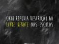CNDH manifesta seu repúdio a quaisquer iniciativas, públicas ou particulares, que busquem restringir a liberdade de comunicação em ambiente escolar
