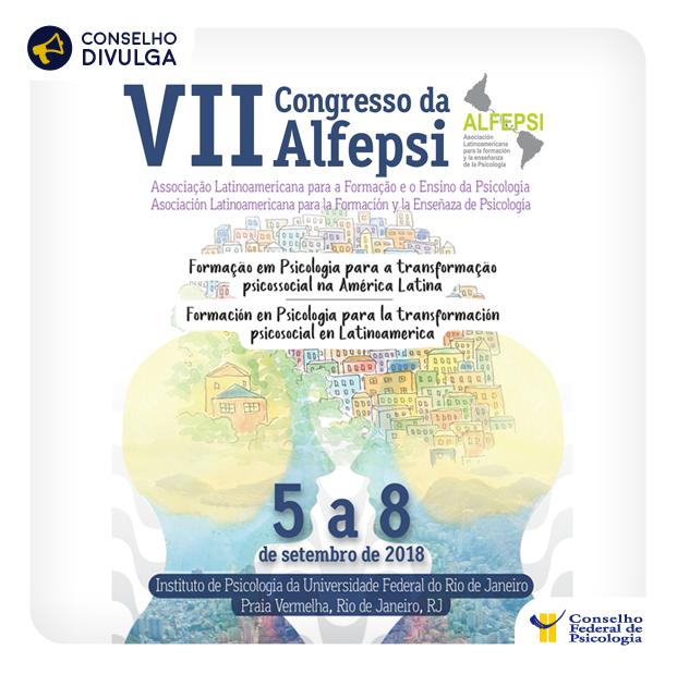 Esta é a primeira vez que o Congresso da Alfepsi é promovido no Brasil
