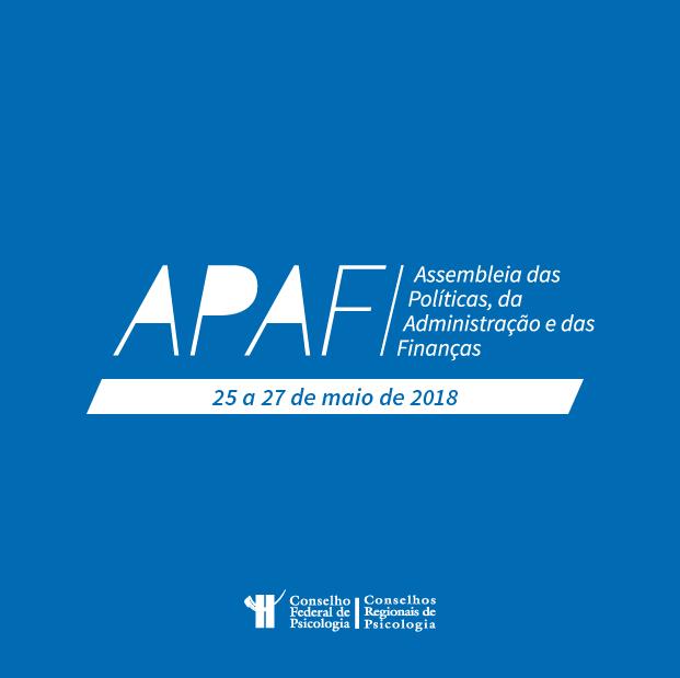 APAF maio 2018 ao vivo