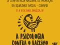 """Imagem destaca um símbolo adinkra e o título da matéria: """"IV Conferência Nacional de Promoção da Igualdade Racial - Conapir - A Psicologia contra o racismo"""". Abaixo, o logo do Conselho Federal de Psicologia"""