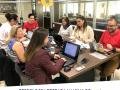 Imagem mostra reunião do grupo de trabalho da Psicologia que está preparando manual de documentos da avaliacao