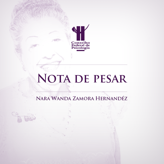 Nota de Pesar: Nara Wanda Zamora Hernandéz